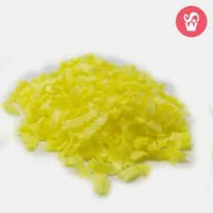 00204 flocos amarelo
