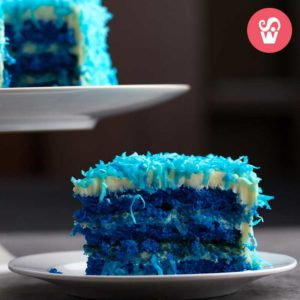 cake blue
