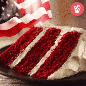 cake redvelvet usa