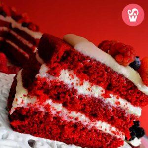 cake vermelho